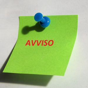 post it avviso